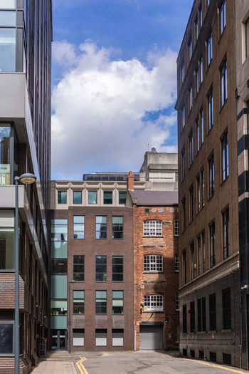 Leeds Old Vs New Apartment Architecture Building Building Exterior Built Structure City City Life Cloud - Sky Day Glass - Material Low Angle View Nature No People Office Outdoors Reflection Residential District Sky Sunlight Window