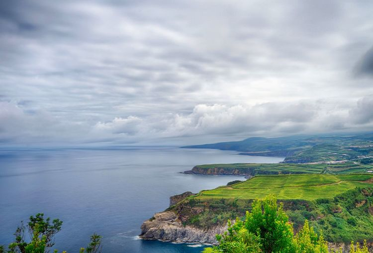 Where Angels Fall Album 🇵🇹PT Ribeira Grande Azores Sea Water Cloud - Sky Scenics - Nature Sky Land Environment Nature Landscape Beauty In Nature Tranquil Scene Tranquility No People Coastline High Angle View Outdoors Horizon Over Water Bay My Best Photo