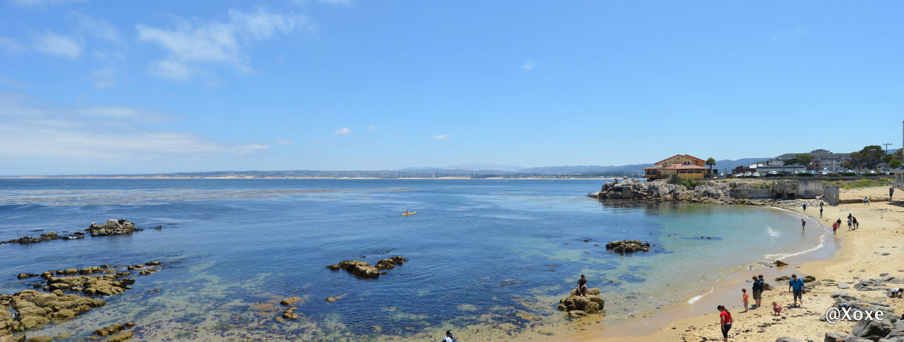 Monterey - Del Monte Forest Adult Beach Beauty In Nature Blue Day Nature Outdoors People Sea Sky Water