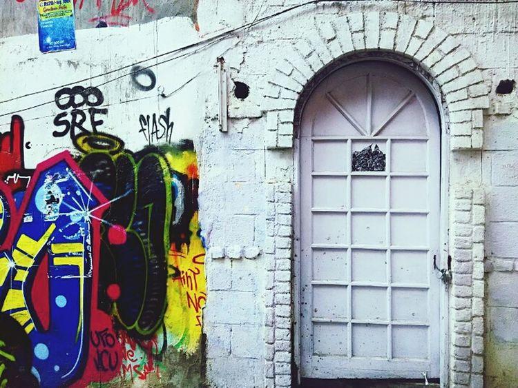 Graffiti Wall Graffiti Art Graffitiporn Graffiti & Streetart Doorsworldwide Hauzkhasvillage Hauzkhas Newdelhi Check This Out Taking Photos Hello World