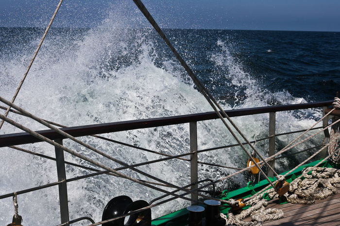Tall Ship Heavy Weather North Sea Sailing Sea Spray Tall Ship Details Waves Wind