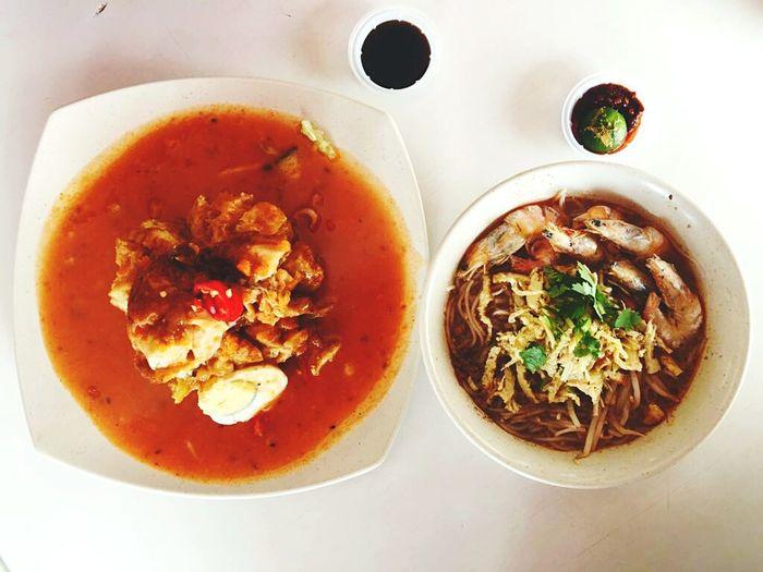 Laksa Sarawak. The Authentic food of Sarawak. Sarawak Sarawakmalaysia Laksasarawak Noodles Malaysia Foodporn Foodphotography Authenticfood Trulyasia