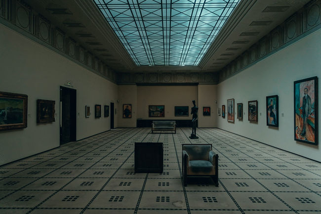 Absence Architecture Art And Craft Arts Culture And Entertainment Building Built Structure Communication Creativity Day Domestic Room Education Empty Flooring Indoors  Museum Music No People Switzerland Text Wall - Building Feature