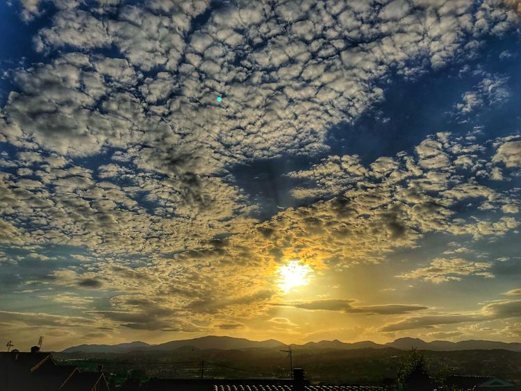 Cloud - Sky Beauty In Nature Sky Sunset Scenics - Nature Tranquility Nature