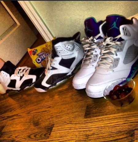 Jordans On My Feet  5's Ate Some Grapes And Oreos And Milk Ehh Not A Good Combination 6's