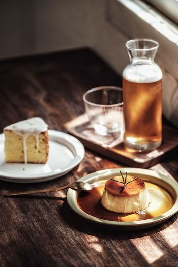 Food And Drink Food Sweet Food Plate Dessert Freshness Sweet Table Drink Ready-to-eat Indoors  Cake Baked