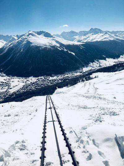 Davos Schnee EyeEm Selects Snow Winter Cold Temperature Mountain Scenics - Nature Beauty In Nature Nature