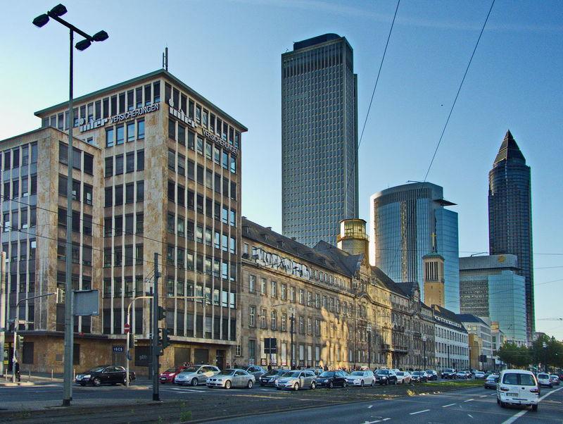 Frankfurt am Main Archetecture City Skyline