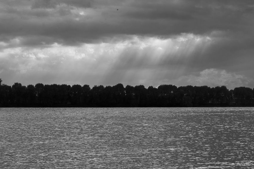 Beach Black And White Blackandwhite Clouds Cloudy Sky Contrast Elements Kissed By The Sun Monochrome Nature Rain Sea Sky Skyfall Sunbeam Water Reflections