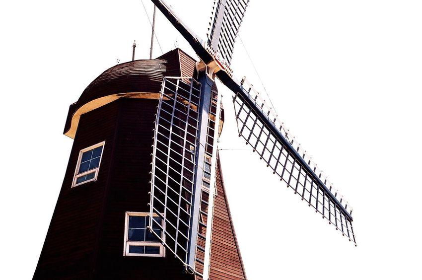 Windmill Sky In Geojedo Minolta Alpha9000