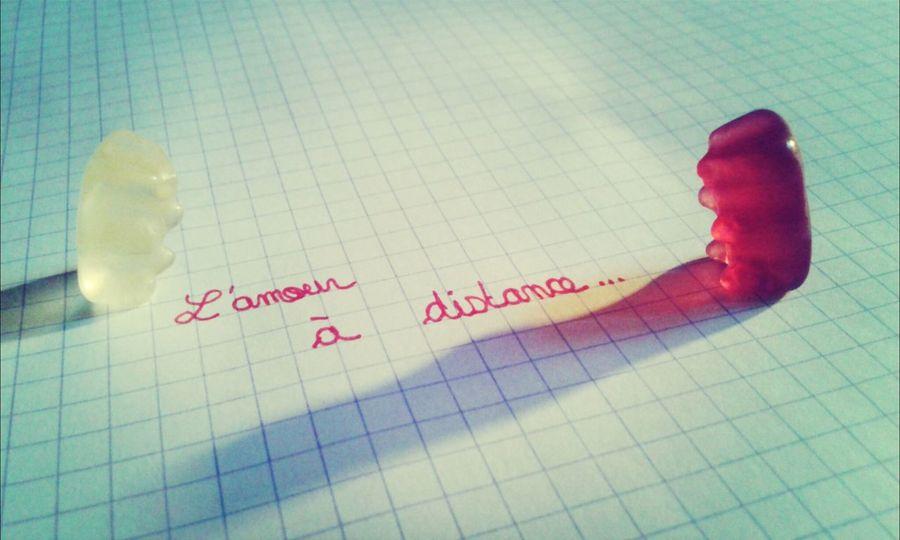 La distance n'arrête pas l'amour. ♡♥