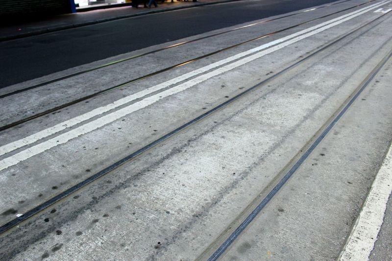 2015 Life In Hong Kong· Tram Tracks Central HongKong Urban Nature Urban Transport