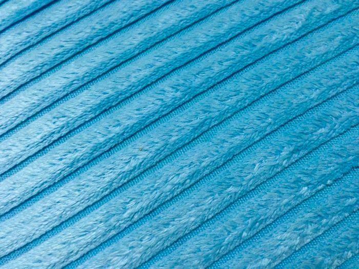 Close-up of blue carpet