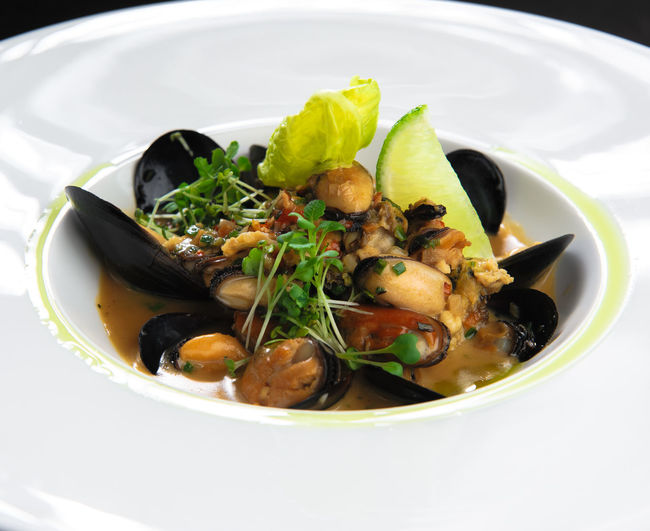 Mussel stew Diet Herbs Lunch Refreshment Seafood Yummy Food Appetizer Appetizing  Delicious Delicious Food Dieting Fish Lemon Main Course Mollusca Mussel Mussel Shell Mussels Prepared Food Restaurant Restaurant Food Sauce Seafood Restaurant Tasteful Yummy