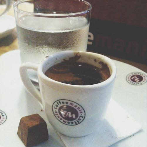chocolate flavored turkish coffee.