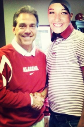 Tbt Back when I signed with Bama