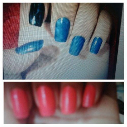 Achei foto das minhas unhas de como era antes... Uhauahua quero elas de volta :( Qndtinhatempo