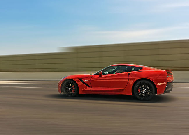Corvette Freeway Highway Speed Zoom Fast Car Red Alternative Energy Speed Moving Activity Motorsport Driving Sports Car Blurred Motion Motor Vehicle Sports Race Luxury Auto Racing No People Racecar Outdoors