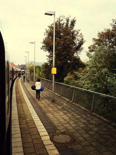 Deutschland. Dein Tag Traveling Trainstation