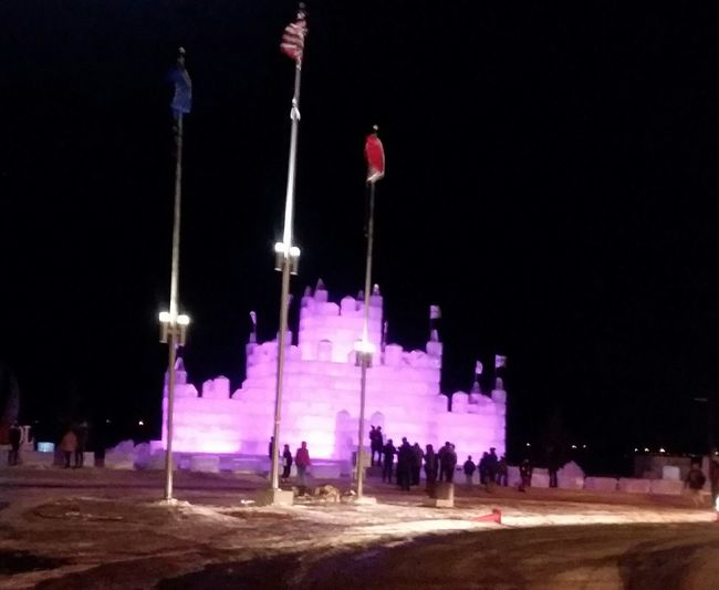 Ice castle Detroit Lakes mn 💖 Frozen Nature Ice Blocks Ice Castle Fun Night Arts Culture And Entertainment People Outdoors Adults Only Adult City