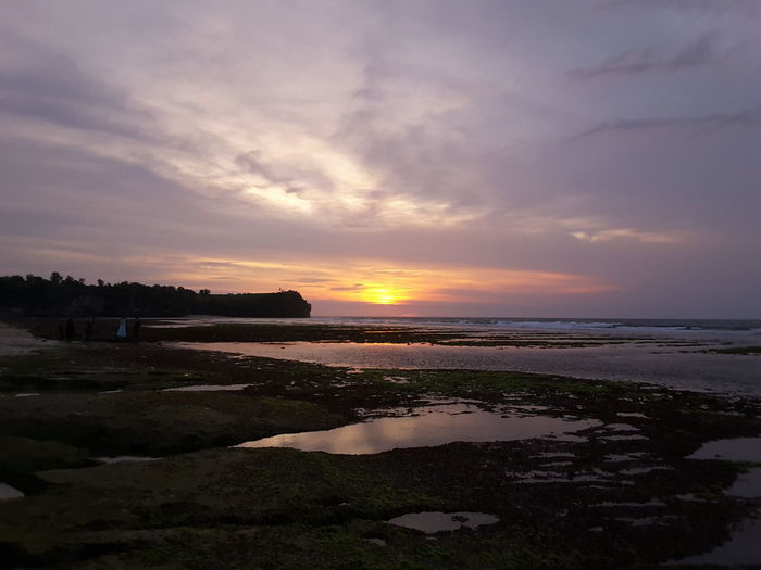 Balangan beach, new tourism place in bali Sea Clear Sky Tourism Travel Bali, Indonesia Holiday Water Vacation Beach Bali Sunset