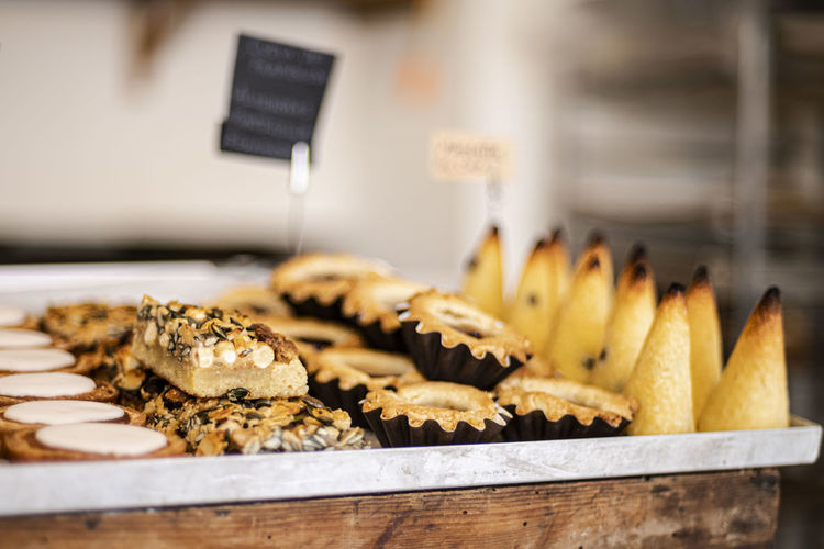 Sweet and tasty baked products