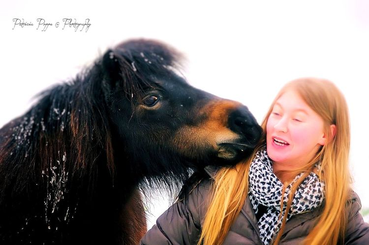 Amber and Tonia fotoshoot in the snow One Animal One Person Enjoying Life Doughter  Shetlander Snowy Days... Love❤ Magical Eyeemhorses Eyeemphoto EyeEm Team Check This Out Horse Hello World Horselife Horsestagram Winter Horse Photography  Naturalhorsemanship Shetland Pony Snow Day ❄ Happiness Friendship Horseplaying Horsetime