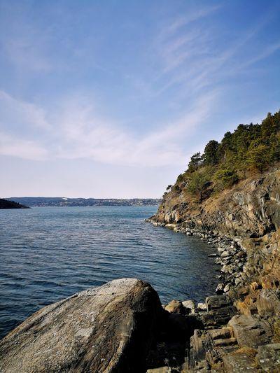 Gressholmen, Oslo, Norvège, Norway Oslo, Norway Gressholmen Island, Oslo Norway Norvège  Nature Mer Forêt And Nature Water Sea Beach Rock - Object Sky Horizon Over Water Rocky Coastline