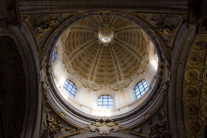 Architecture Architecture And Art Basilica Di San Fedele Cupola Day Dome Duomo Di Como Indoors  No People The Graphic City