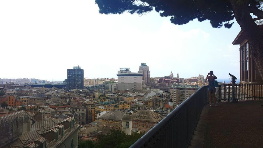 Summer2015 Historical Center View From The Top Genova Italy