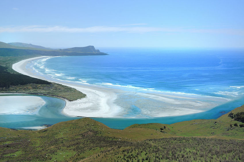 Beach Beauty In Nature Day Landscape Nature New Zealand Scenery No People Outdoors River Scenics Sea Seascape Sky Travel Travel Destinations Wickliffe
