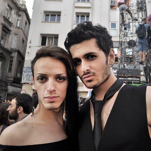 LGBT Onur Yürüyüşü. 29.06.2014 / LGBT Pride Parade Lgbt Lgbtistanbul Gay Couple istanbul taksim instagood