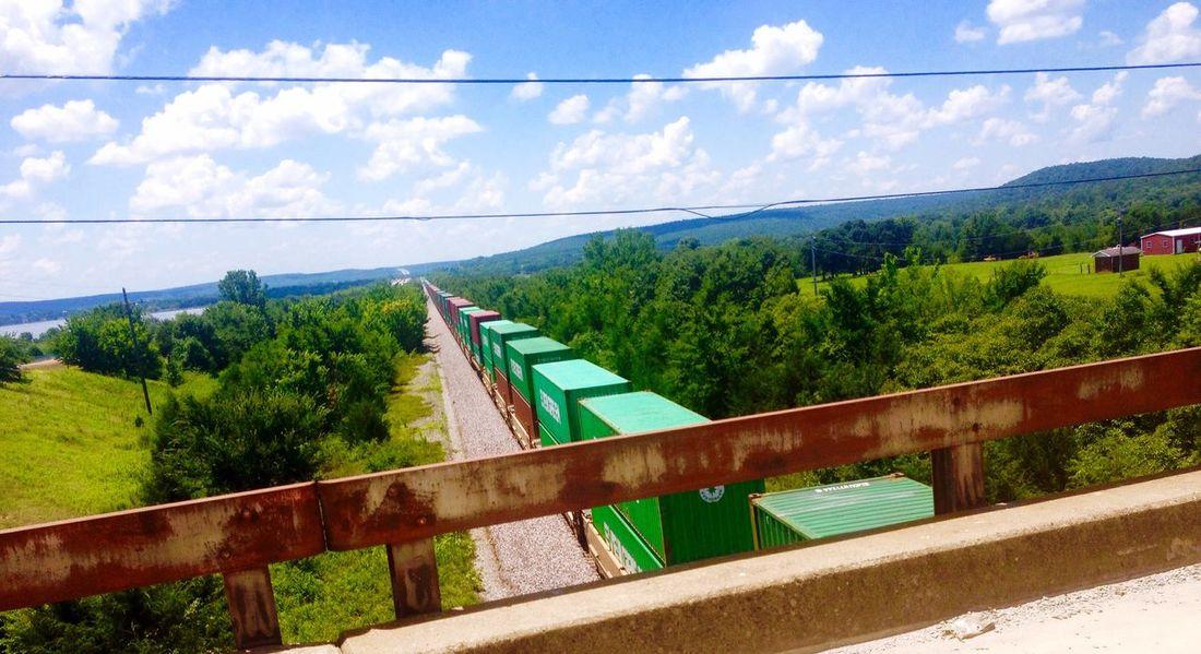 Landscape Sky Nature Trains MCALESTER,OKLAHOMA