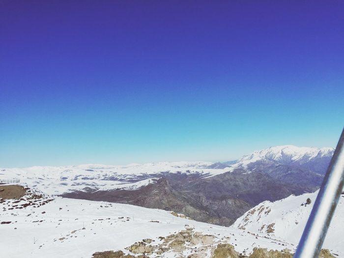 🏔🎿⛷😍¿No ves lo feliz que soy en la montaña en invierno?🌬☁️☃️🌨 Chile♥ mMontaña😍sSnowwWinternNaturemMountaintTranquilitydDayoOutdoorstTe Amou❤eEl ColoradodDeportelLibertad😍