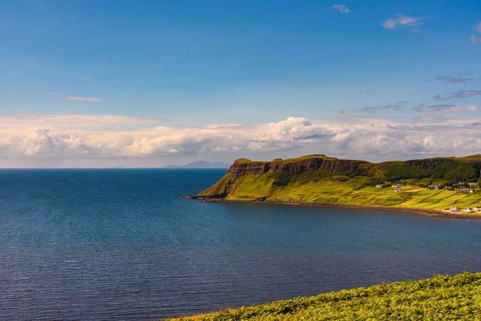Fairy Glen Scotland Scottish Uig Beauty In Nature Cloud - Sky Day Highlands Horizon Over Water Idyllic Mountain Nature No People Outdoors Scenics Sea Sky Tranquil Scene Tranquility Water Waterfront
