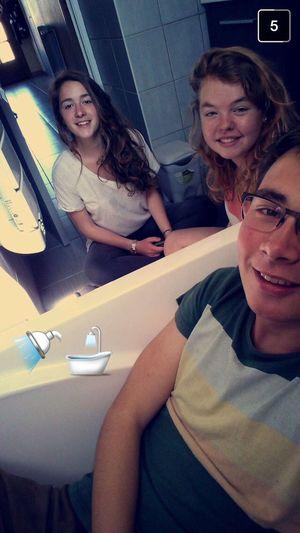 Selfie Baignoire ! 🛀💕