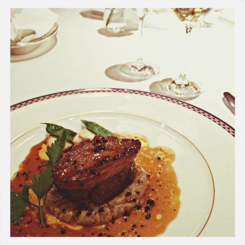 フォアグラ大好き(∗❛ั௰❛ั∗)⋆*ೃ French Dinner Yammy! Enjoying Life