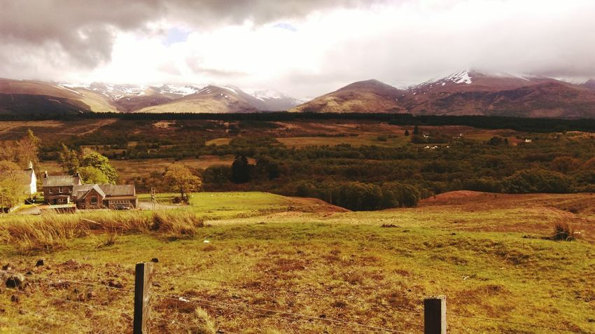 Scotland Mountain Range