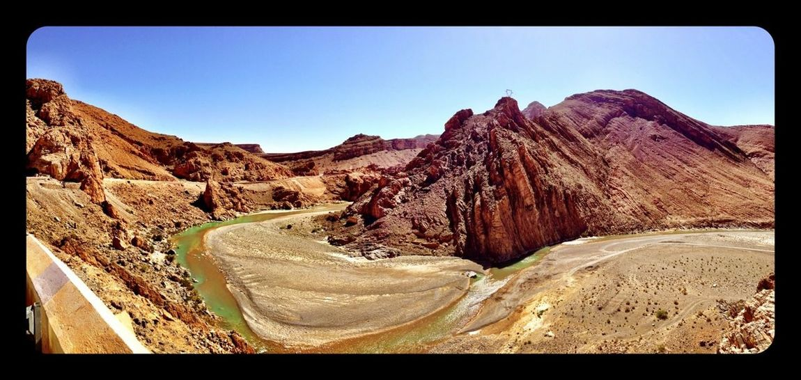 Canyon Landscapes With WhiteWall Panoramic Dry Travel Photography Morocco Roadtrip