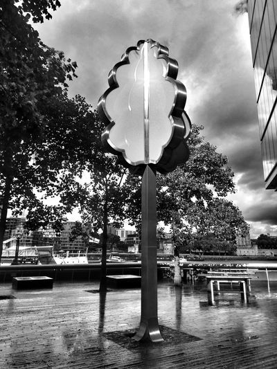 Tree No People Day Sky Outdoors Fake Trees Politics And Government Tower Bridge  Nature Tree Storm Cloud Tower Bridge  Travel Destinations City Extreme Weather Architecture Water Cloud - Sky