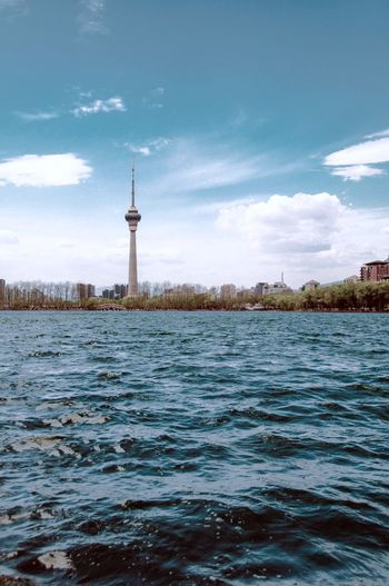 EyeEmNewHere 玉渊潭 玉渊潭 湖 风 建筑 风景 中央电视台 Sky Water Architecture Tower Waterfront Built Structure Nature No People Travel Destinations Cloud - Sky Outdoors City Day Beauty In Nature (null)Construction Beauty In Nature Beautiful Live For The Story
