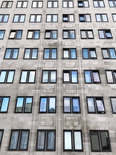 EyeEm Selects Full Frame Window Backgrounds Architecture Building Exterior Low Angle View Built Structure Day No People Outdoors Sky