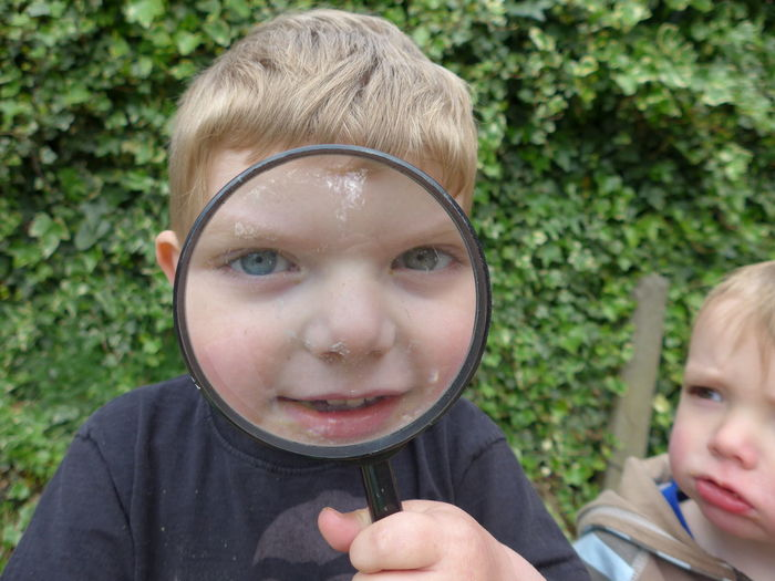 EyeEm Selects Child Boys Headshot Childhood Two People Outdoors Day People Front View Focus On Foreground Males  Close-up Leisure Activity Holding Children Only Portrait Adult Togetherness Blond Hair Human Body Part Minion  Minion Love