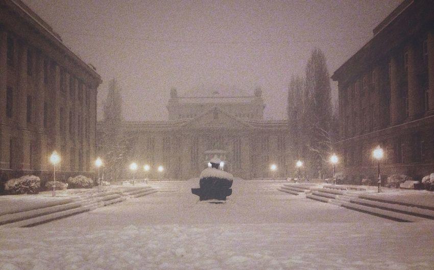 .. Snow Dreamy Streetphotography