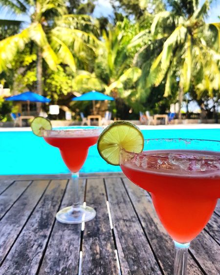 Poolbar Drink Hulhuleisland Hulhule Red Pool Maldives Relaxing Day Nadir Cocktail Drinking Glass Swimming Pool Summer Alcohol Cold Drink SLICE Outdoors Water