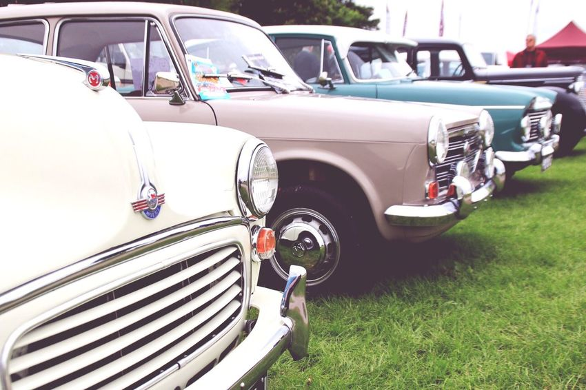 Car Transportation Land Vehicle Mode Of Transport Vintage Car Stationary Retro Styled Outdoors Day Old-fashioned Collector's Car No People Morris Morris Minor 1000 Morris 1100 Vintage Fair Driffieldshow