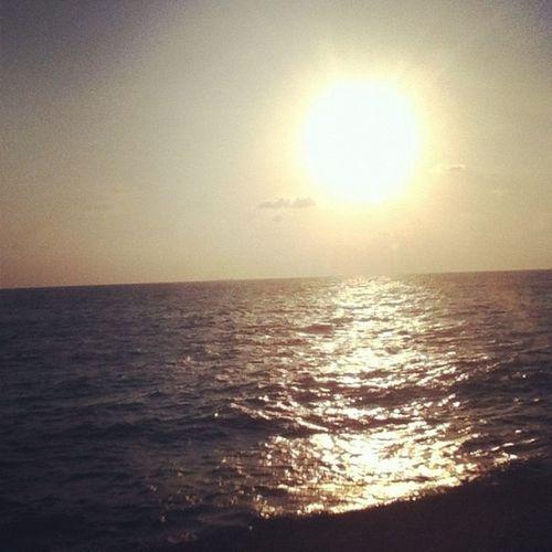 Beach Sunset Sky Lebanon
