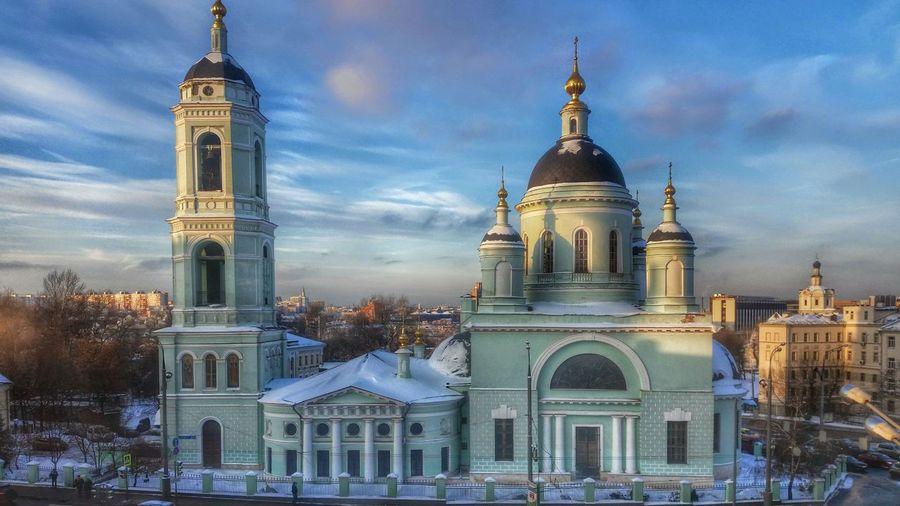 храм Церковь площадь сергия радонежского достопримечательность Москва Moscow