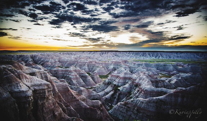 Beautiful sunrise at Badlands of South Dakota Eyembestshots South Dakota Eyemphotography Eyem Gallery EyeEm Nature Lover South Dakota Badlands Eyem Best Shots