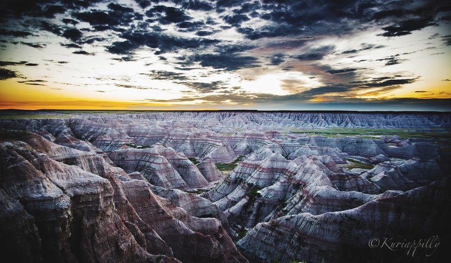 Beautiful sunrise at Badlands of South Dakota Eyembestshots South Dakota Eyemphotography Eyem Gallery EyeEm Nature Lover South Dakota Badlands Eyem Best Shots